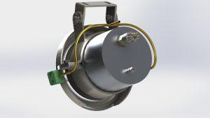 Glass Crank Camera
