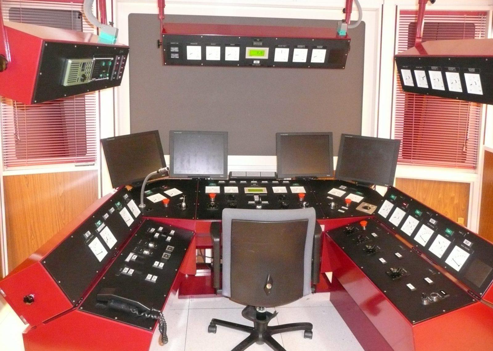 Control centre simulator