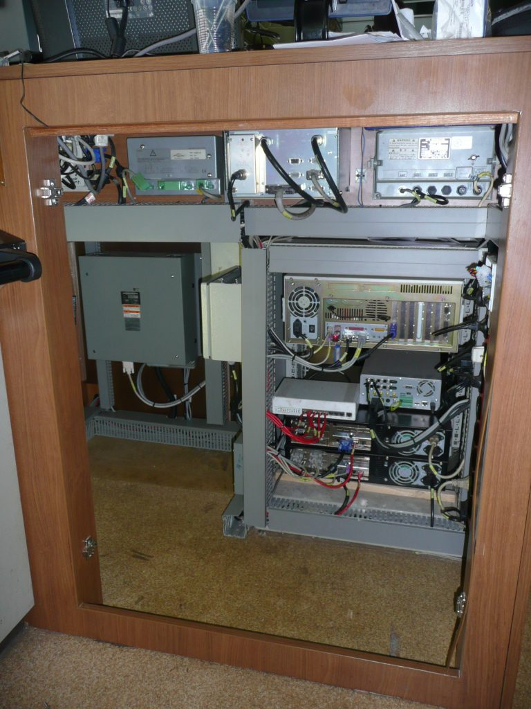 Control cabinet after